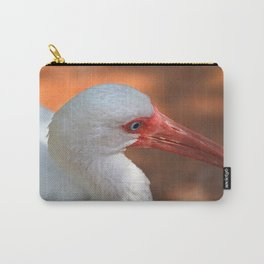 White Ibis - Grand Cayman Carry-All Pouch