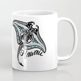 Hawaiian Tribal Ray Coffee Mug