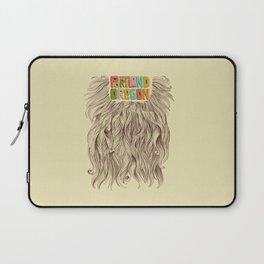 Portland = Beards Laptop Sleeve