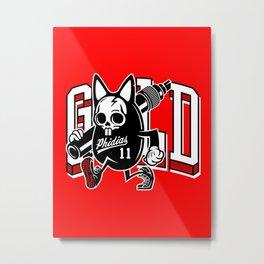 Phidias Gold x Zach Shuta Metal Print