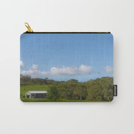 Farm building in a rural view Carry-All Pouch