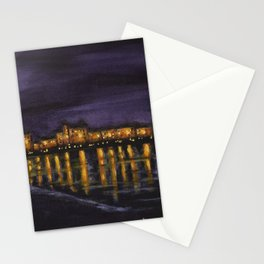 Night in Prague Stationery Cards