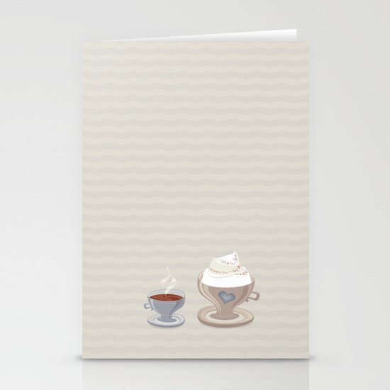 Coffee for Two Stationery Cards