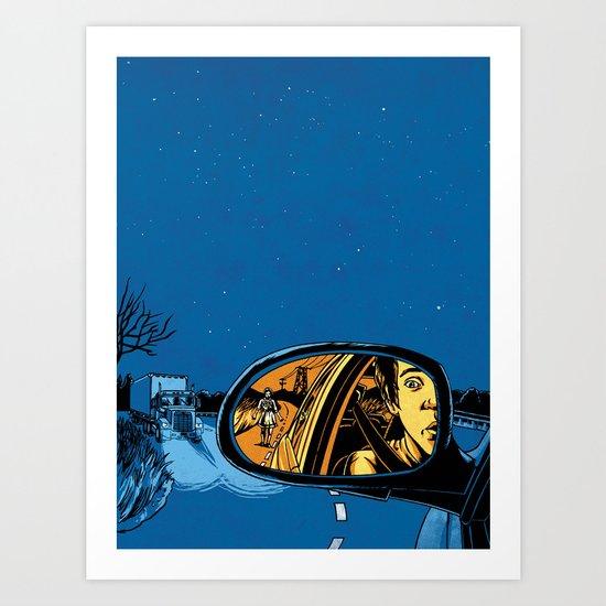 Night Drive Art Print