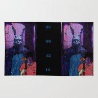 donnie darko Area & Throw Rugs featuring Donnie Darko by brett66