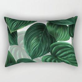 tropical green pattern Rectangular Pillow