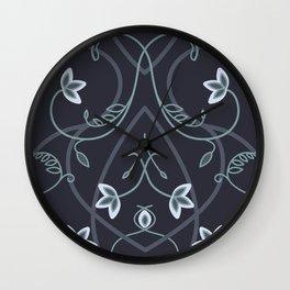 Gothic Flower Fantasy Wall Clock
