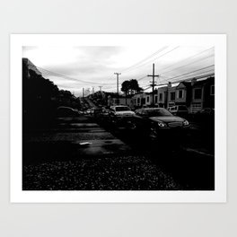 Empty Street Art Print