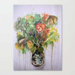 As They Die (ii) Canvas Print