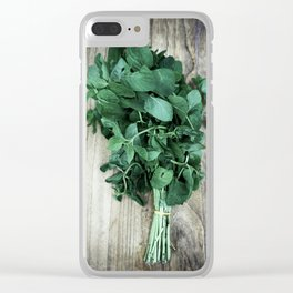 Hierbas Aromaticas Clear iPhone Case