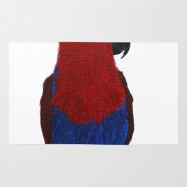 Festive Parrot Rug