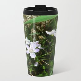 Spring Beauty 05 Metal Travel Mug
