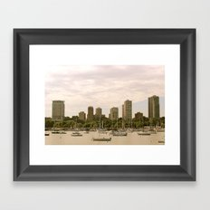 McKinley Marina - Milwaukee Framed Art Print