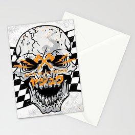 Death Valley Racers (Black Orange) Stationery Cards