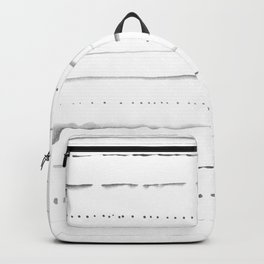 Minimalist Lines in Gray Backpack
