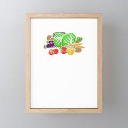 I'm Farming And I Grow It - Funny Farming Framed Mini Art Print