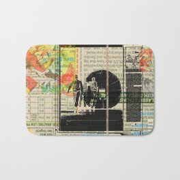 Rauschenberg Rumble (for Hip Kidds) Bath Mat