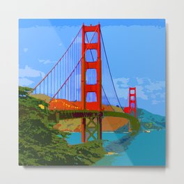 Golden Gate Bridge 009 Metal Print