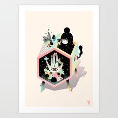 Mystery Garden Art Print