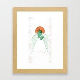 3Lives - Stone Framed Art Print