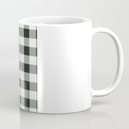 Buffalo Check in black Coffee Mug