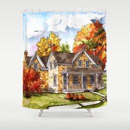 October on the Farm Shower Curtain