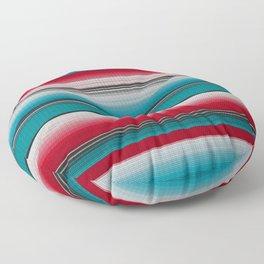 Mexican serape #5 Floor Pillow