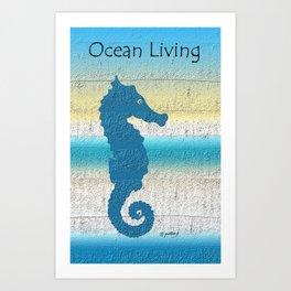 Ocean Living Art Print