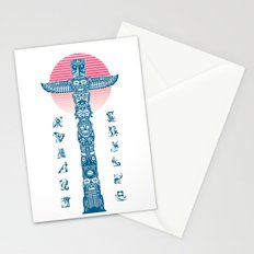 Totem Ressurection Stationery Cards