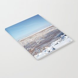 Snow on the Bay of Fundy Notebook