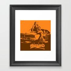 Hazzard & Girls Framed Art Print