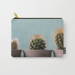 Three baby cactus Carry-All Pouch