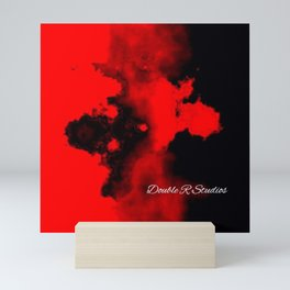 Silhouette of smoke by Double R Mini Art Print