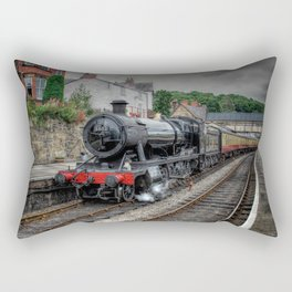 British Steam Loco Rectangular Pillow