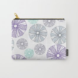 white sea urchin Carry-All Pouch