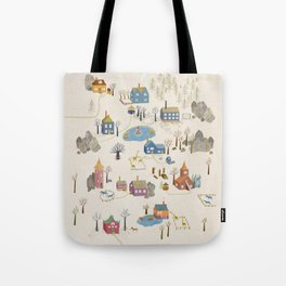 Little Village Tote Bag