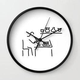 laboratory assistant lab Wall Clock
