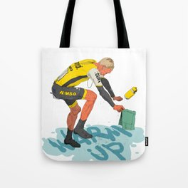 Warm up! Tote Bag
