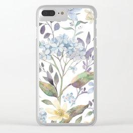 Secret Garden 1 Clear iPhone Case