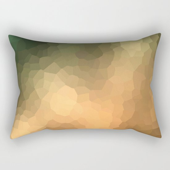 """Abstract pattern """"Sunny day """". Rectangular Pillow"""