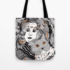 Capable Cat Tote Bag