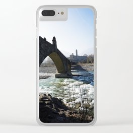 The Bridge - Italy Clear iPhone Case