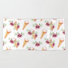 Hawaiian Dream Ice Cream Beach Towel