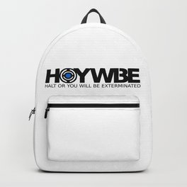 HOYWBE (halt or you will be exterminted) Backpack