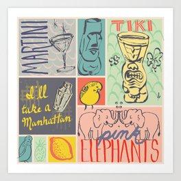 I'll Take a Manhattan Art Print