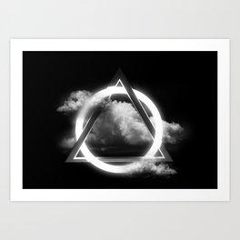 Sacred Geometry - Trinity  06 Art Print