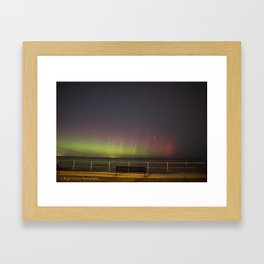 Old Garden Aurora Framed Art Print