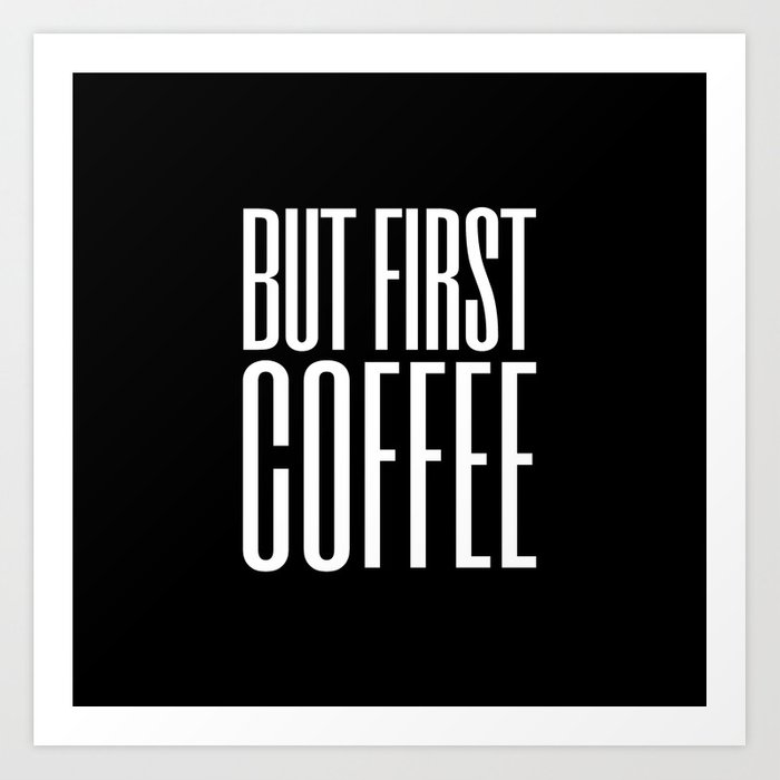 Coffee VIII Art Print