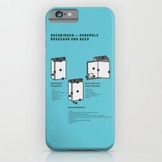 Buchbinden – Merkmale Broschur und Buch (in German) Slim Case iPhone 6