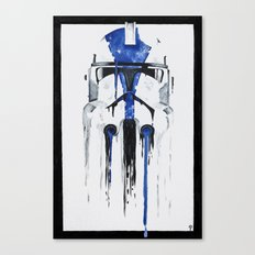 A blue hope 1 Canvas Print